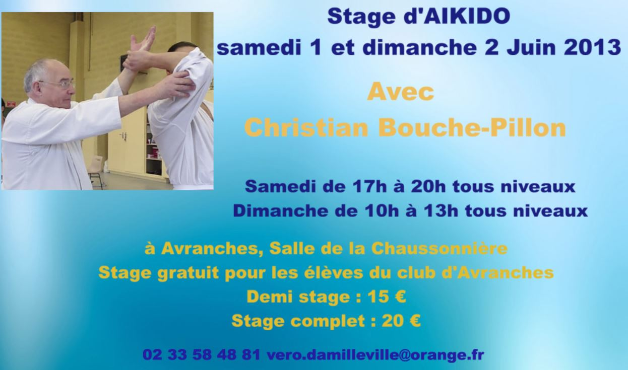 Stage d'Aikido à Avranches